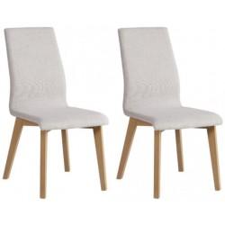 RAHISI MYRTOS KR0134-B99-BG91 krzesła komplet 2 szt