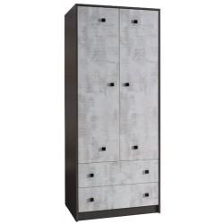 TOMMY 2 szafa 80 cm z szufladami