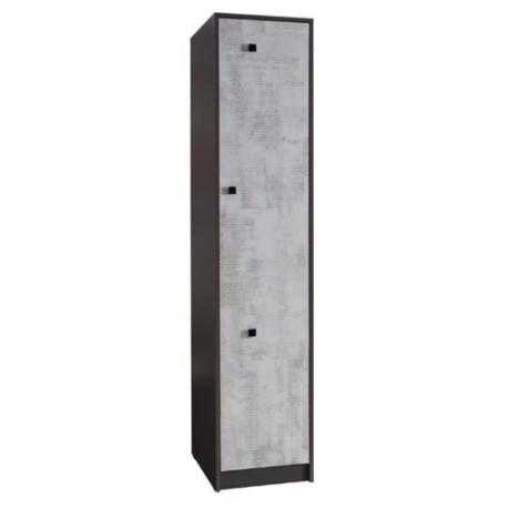 TOMMY 3 szafa 50 cm z półkami