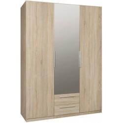 CADIXO CDXS83S szafa 151cm z lustrem i szufladami