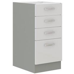Blanca 40 D 4S szafka dolna z szufladami