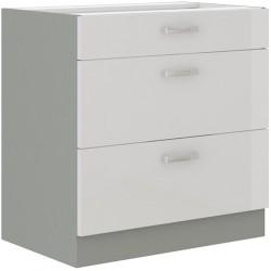 Blanca 80 D 3S szafka dolna z szufladami