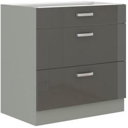 Grau 80 D 3S szafka dolna z szufladami