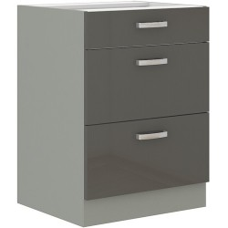 Grau 60 D 3S szafka dolna z szufladami