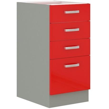 Red 40 D 4S szafka dolna z szufladami
