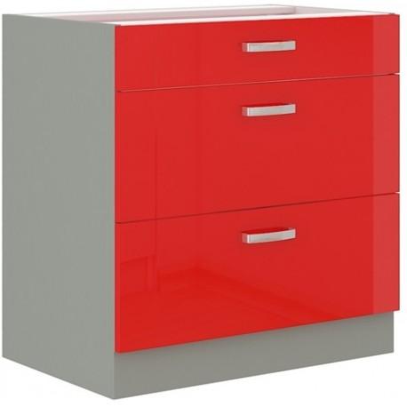 Red 80 D 3S szafka dolna z szufladami