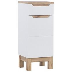 BALI WHITE 810 słupek niski 35 cm szafka