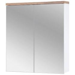 BALI WHITE 840 szafka z lustrem 60 cm wisząca