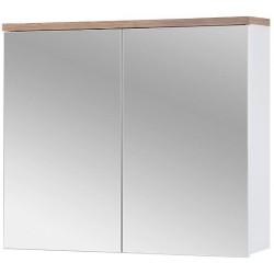 BALI WHITE 841 szafka z lustrem 80 cm wisząca