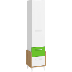 HEY 02 bieliźniarka 45 cm z szufladami i drzwiami