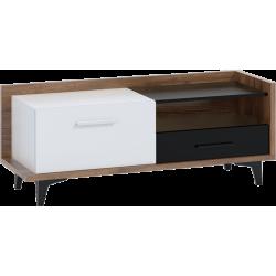 BOX 08 stolik RTV 1D1S 125 cm z szufladą