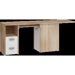 KITTY 02 biurko narożne 191 cm z szufladą