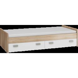 KITTY 04 łóżko 90 cm młodzieżowe z szufladami