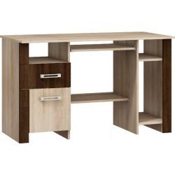 HUGO 01 biurko 122 cm z szufladą