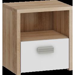 KITTY 12 stolik nocny 40 cm szafka z szufladą