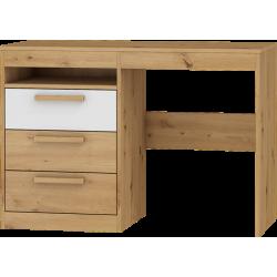 MAXIMUS 03 biurko 3S 110 cm komputerowe z szufladami