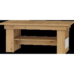 MAXIMUS 16 ława 125 cm stolik kawowy z półką