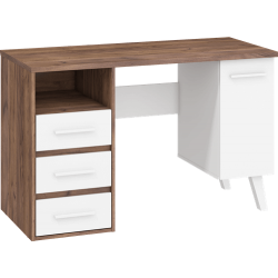 NORDIS 01 biurko 125 cm z szufladami