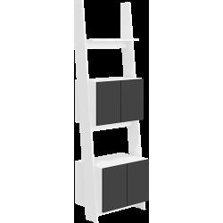RACK RAC-05 regał 60-2D 60 cm drabinka z półkami