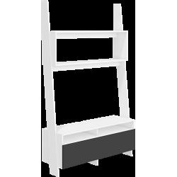 RACK RAC-09 stolik RTV 120 cm drabinka z półkami