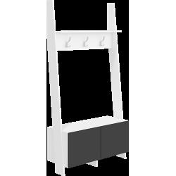 RACK RAC-10 wieszak 120 cm drabinka z półką