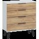 SVEN SVN-04 komoda 4S 80 cm z szufladami na nóżkach