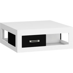 VERIN VRN-02 ława 90 cm z dwiema szufladami