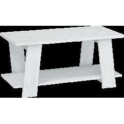 VIA 02 ława 120 cm z stolik kawowy półką
