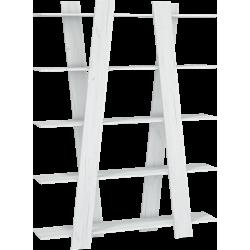 VIA 07 regał 150 cm drabinka z półkami