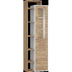 RIO 26 witryna 64 cm dwudrzwiowa z półkami