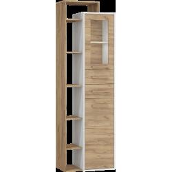 RIO 27 witryna 64 cm dwudrzwiowa z szufladami