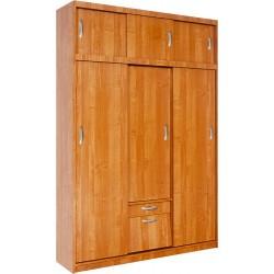 ALEKSANDER 2 szafa przesuwna 149 cm z półkami i szufladą