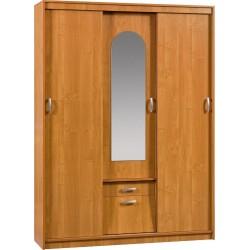 ALEKSANDER 4 szafa przesuwna 149 cm z lustrem i szufladą