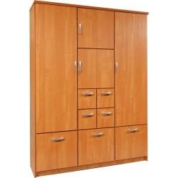 BARCELONA 150 szafa 150 cm z półkami i szufladami