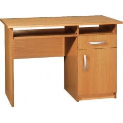 JAŚ 2 biurko 110 cm z półką na klawiaturę i szufladą