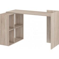 HEROS biurko 122 cm narożne z półkami