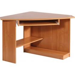 CAREN biurko 101 cm narożne z półką na klawiaturę