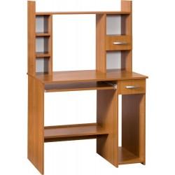 KUBA MAX biurko 90 cm z półką na klawiaturę i nadstawką