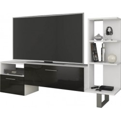 BEST duża szafka RTV 152 cm z półkami