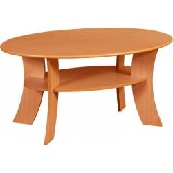 ECLIPSE ława 110 cm stolik kawowy z półką