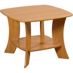 PARTY 6 D ława 70 cm stolik kawowy na z półką