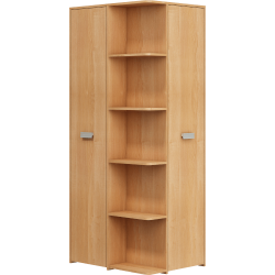 NEMO szafa narożna 83 cm dwudrzwiowa z półkami