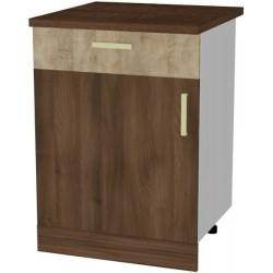 BLANKA D60S/1 szafka kuchenna dolna z szufladą