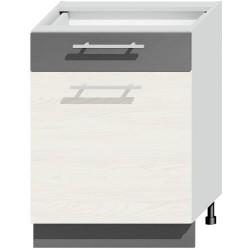 NEXT D60S1 L/P szafka kuchenna z szufladą
