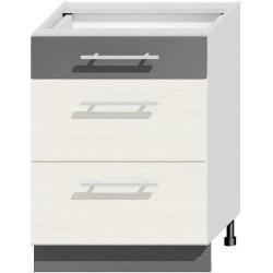 NEXT D60S3 szafka kuchenna z szufladami