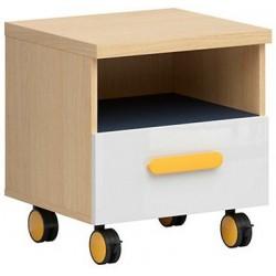 WESKER KTN1S komoda mobilna 45 cm z szufladą