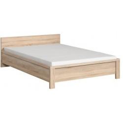 KASPIAN LOZ140DSO łóżko 148 cm sonoma