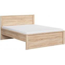 KASPIAN LOZ160T łóżko 168 cm dąb sonoma