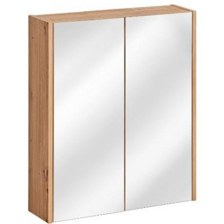 Madera Grey 840 szafka 60 cm wisząca z lustrem