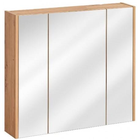 Madera Grey 841 szafka 80 cm wisząca z lustrem